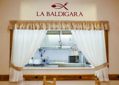 La Baldigara Ristorantino - Il ristorante - La cucina